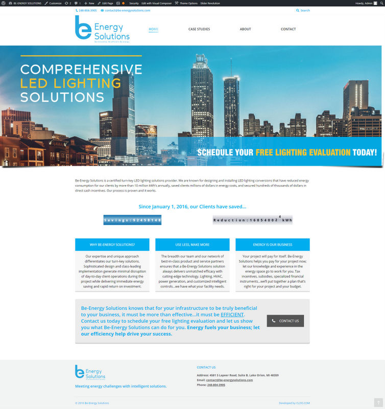 BE-Energy Solutions – Entrepeneur